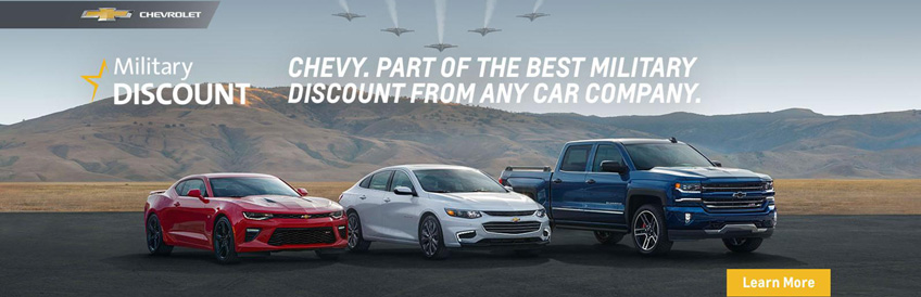 Chevy Military Discount Program