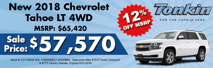 Ron Tonkin Chevrolet Special Offers