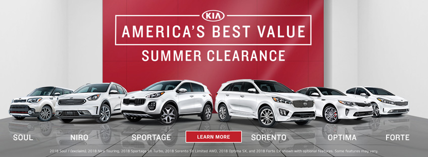 Kia Sales Offer