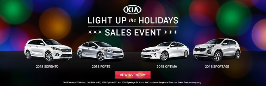 Kia Light Up the Holidays Sales Event